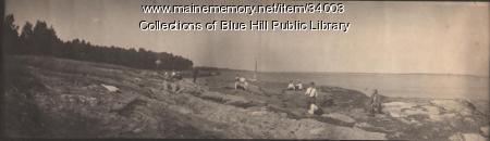 Picnicking, Blue Hill, 1907