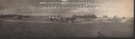 Buggy Ride to South Blue Hill, 1907