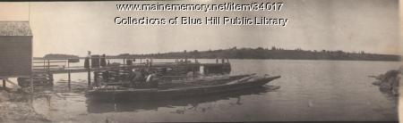 Brooksville to Castine Ferry, 1907