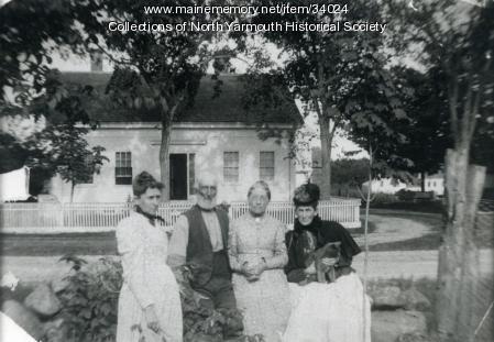 John and Mary Staples Barstow, North Yarmouth , ca. 1903