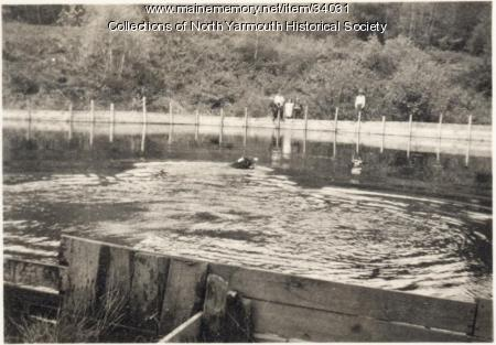 Community Swimming Pool, North Yarmouth, 1937