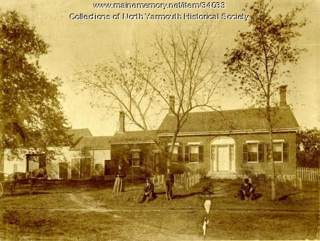 Samuel B. Chase house, North Yarmouth, ca. 1900