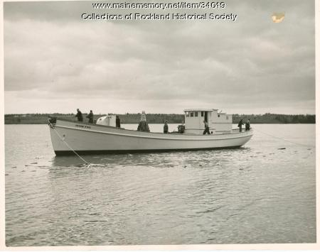 Sardine carrier Jacob Pike, Thomaston, 1948