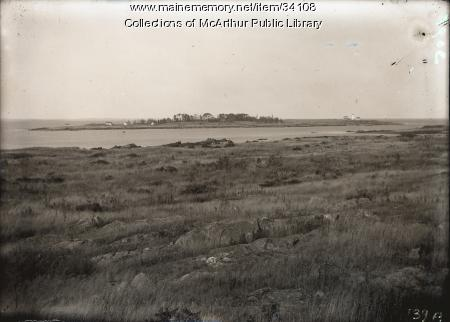 Wood Island and lighthouse, Biddeford Pool, ca. 1915