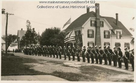 Event on Church Street, Lubec, ca. 1908-10