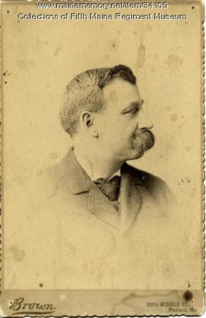 George E. Brown, Fifth Maine Regiment, ca. 1870