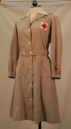 Grey Lady Uniform, Bangor, ca. 1942