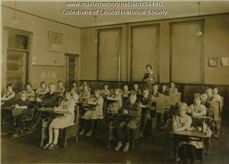 Lincoln Primary School, ca. 1910