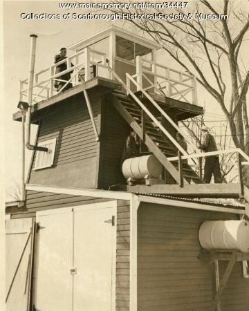 Ground Observer Post WW II, Scarborough, ca. 1940