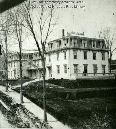Classical & Scientific Academy, Central Street, Hallowell, ca. 1880