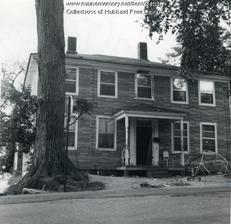 Joshua Wingate House, Union Street, Hallowell, 1968