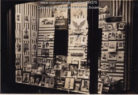 Weatherbee Hardware Store window display, Lincoln, ca. 1943