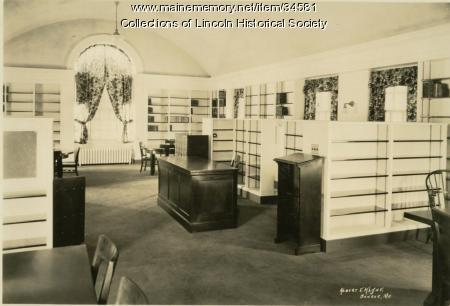 Lincoln Memorial Library, 1924