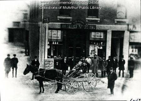 Main Street, Saco, 1870
