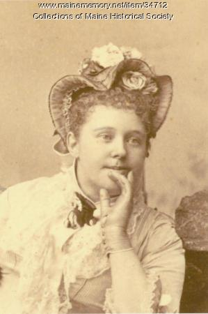 Alida Carroll Brown, ca. 1880