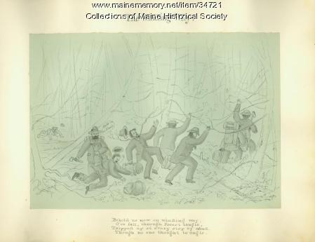 Mt. Carrigain expedition remembrance, 1873