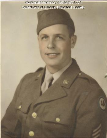 Paul Fleming, WW II, South Germany, 1945