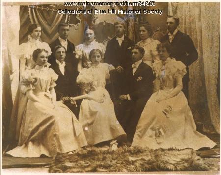 Blue Hill Academy graduating class, 1897