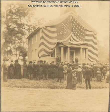 Blue Hill Academy, Blue Hill, 1903
