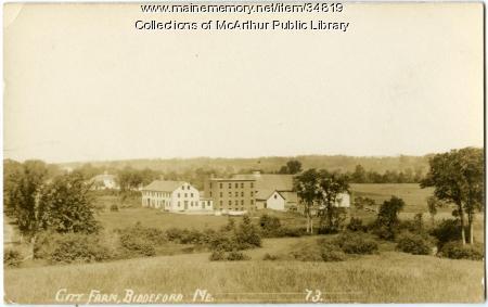 City Farm (Poor Farm), Biddeford, ca. 1910