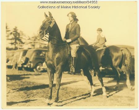 Harriet Thomas, Portland, 1936