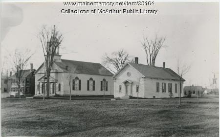 Second Parish Unitarian Church, Saco, ca. 1890