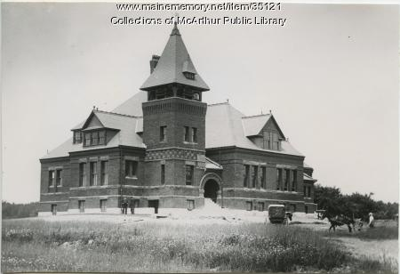 Re-dedication of Thornton Academy, Saco, 1889