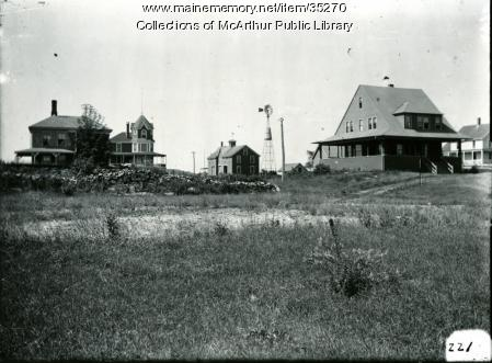 Cottages at Fortunes Rocks, Biddeford, 1911