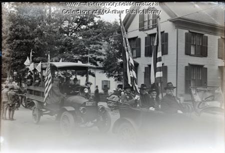 Civil War Veterans of Biddeford, 1916