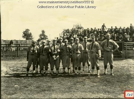 Diamond Match baseball team, Biddeford, ca. 1916