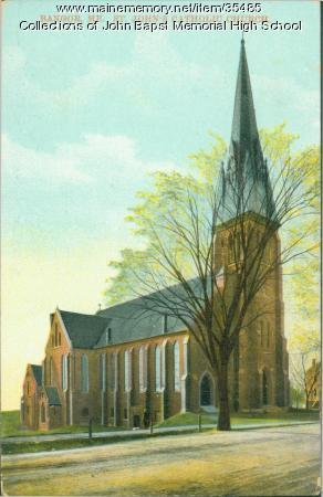St. John's Church, Bangor, ca. 1930