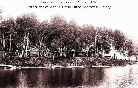 Sporting camps, Aroostook County, ca. 1900