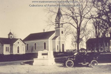 Alfred (Congregational) Parish Church, ca. 1900