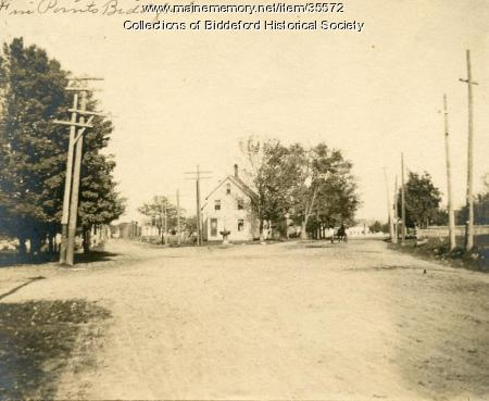 Five Points section at Biddeford, ca. 1900