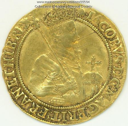 Twenty shilling coin, 1606