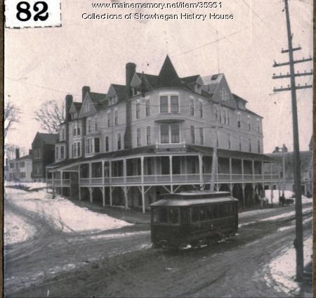 Hotel Coburn Skowhegan Ca 1910