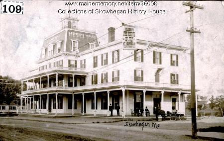 Heselton House, Skowhegan, ca. 1895