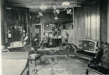 Office of the Heselton House, Skowhegan, ca. 1900