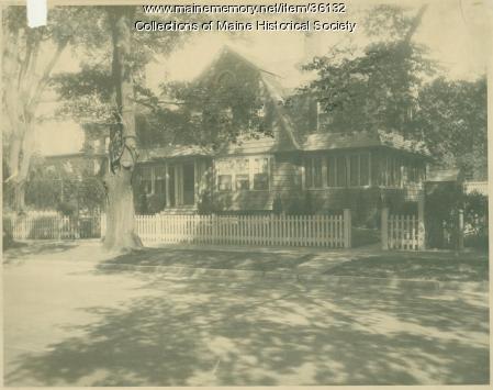 Louisa Spring house, Portland, ca. 1920