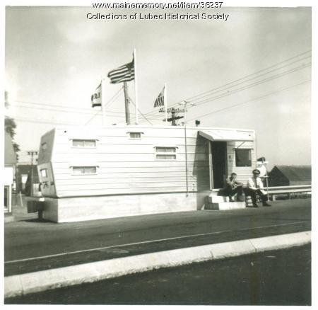 Customs office, Lubec, 1963