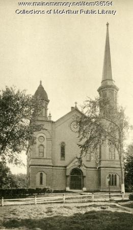 White Church, Biddeford, ca. 1894