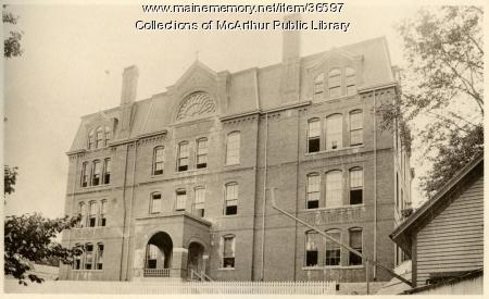 St. Joseph's School, Biddeford, ca. 1894