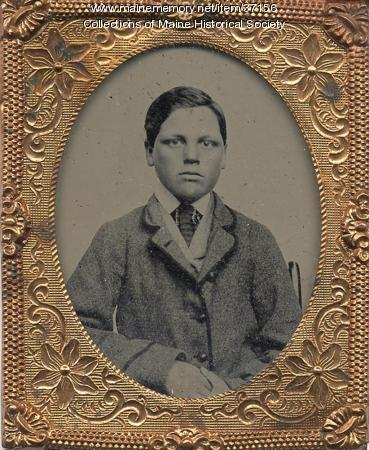 Alney Chase as a young man, ca. 1865