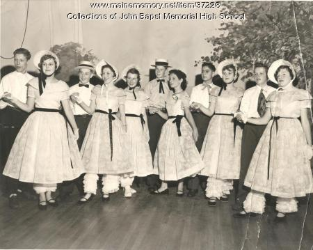 St. John's Grammar School Coffee Party, Bangor, ca. 1954