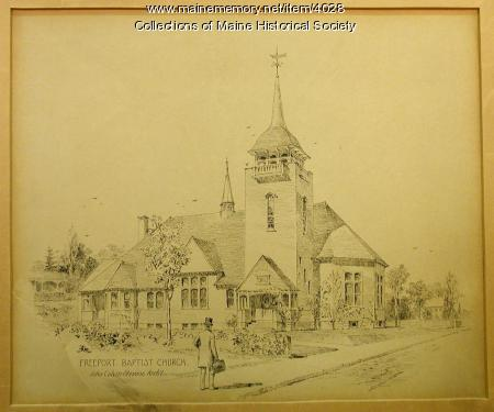 Freeport Baptist Church, 1896