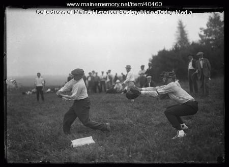 Kiwanis Club baseball game, Scarborough, 1920