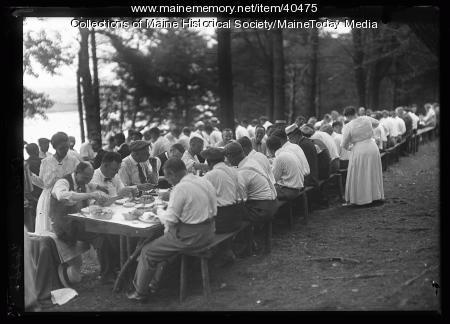 Portland Kiwanis reunion, Scarborough, 1920