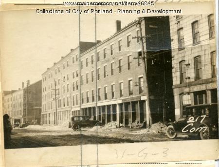 221 Commercial Street, Portland, 1924