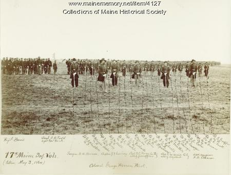 17th Maine Infantry volunteers, 1864