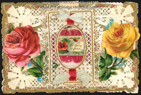 Nineteenth century valentine